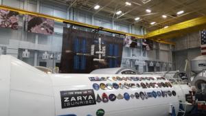 ISS training hangar, NASA Houston