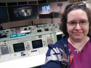 Me at Historic Apollo Mission Control Center, NASA Houston