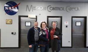 Group shot, MCC Entrance NASA Houston