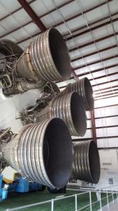 Saturn V Rockets, NASA Houston