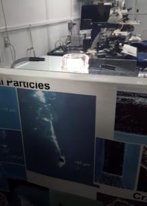 Silicon gel for Stardust gathering, NASA Houston