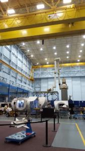 Training hangar floor, NASA Houston
